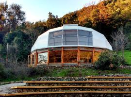 Biosfera Lodge, Olmué (Ojos Buenos yakınında)