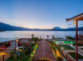 Lugu Lake Yunhu Washe Guesthouse, Ninglang (Ningli yakınında)