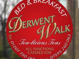 Derwent Walk Bed and Breakfast, Consett