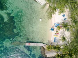 Thatch Caye Resort a Muy'Ono Resort, Hopkins (Coco Plum Cay yakınında)