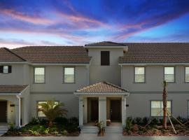 Four Bedrooms close to Disney w Pool 4898