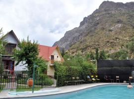 Refugio Cumbres, Los Andes (Río Blanco yakınında)