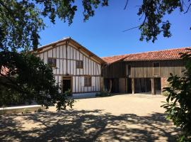 Maison Lafleur, Le Vignau (рядом с городом Duhort-Bachen)