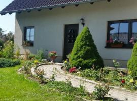 Ferienwohnung Frankenthal bei Bischofswerda, Frankenthal (Burkau yakınında)