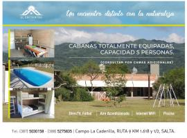 Cabañas El Encuentro, La Calderilla