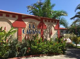 Hotel La Cabaña, Ciudad Melchor de Mencos (San Jose Succotz yakınında)