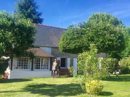 maison de charme, Pluméliau (рядом с городом Saint-Nicolas)