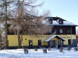Hotel & Restaurant Adolfovský Dvůr, Adolfov (Chlumec yakınında)