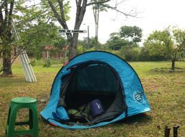 Camping, San Luis de Cubarral (El Dorado yakınında)