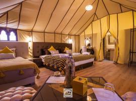 Luxury oasis camp