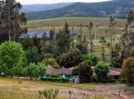 Casa Azul de San Pancho, Paredones (Bucalemu yakınında)