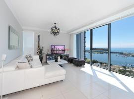 2 Bedrooms Ocean View Apartment in Gold Coast CBD, Gold Coast (Southport yakınında)