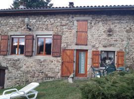 La bergerie St Didier en Velay 43140, Grand Roure (рядом с городом Saint-Just-Malmont)