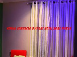 Apart Hotel Boas Novas, Paracambi (Ponte Coberta yakınında)