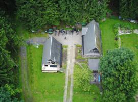 Wanderhütte, Bernhardsthal (Lichte yakınında)