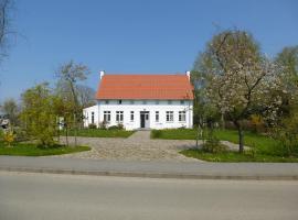 Traumhaftes Luxus-Ferienhaus, Warnkenhagen (Brook yakınında)