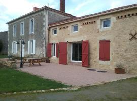 La baritaudiere, La Réorthe (рядом с городом Saint-Juire-Champgillon)