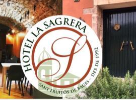 Hotel la Sagrera SFB, Sant Fruitos de Bages (Rocafort yakınında)
