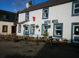 The Castle Hotel, Portmahomack (рядом с городом Rockfield)
