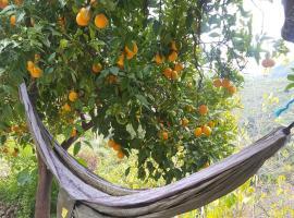 Romantic escape in nature, Yunquera