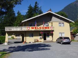 Swiss Chalets Motel, Hope (Yale yakınında)