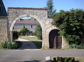 La Maison Noble, Champagné-le-Sec (рядом с городом Caunay)