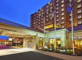Most Booked Hotels Near Horseshoe In The Past Month Hilton Garden Inn Cleveland Downtown