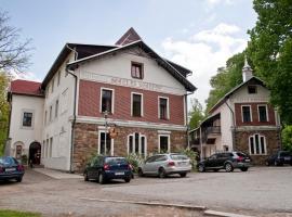 Hotel Na Kocandě, Želiv (Vřesník yakınında)