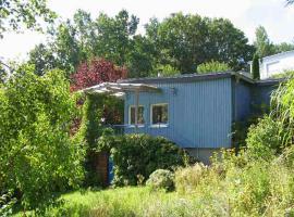blaues Haus am See, Schwarz