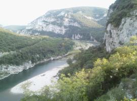 gîte en sud Ardèche, Ruoms (рядом с городом Pradons)