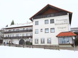 Pension Weinhaus Unger, Schwenningen (Stetten am Kalten Markt yakınında)