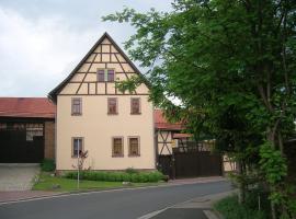 Ferienwohnung Landblick, Alkersleben (Elleben yakınında)