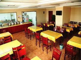 GreenTree Inn Jiangsu Suzhou Zhangjiagang Daxin Town Pingbei Road Express Hotel, Zhangjiagang (Zhangjiagang yakınında)