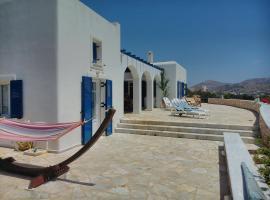 Villa with extraordinary view near the sea