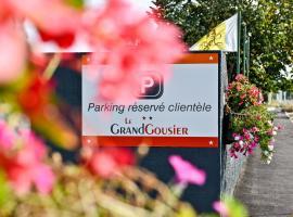 Logis Hotel Le Grandgousier, Saugnacq-et-Muret (рядом с городом Liposthey)