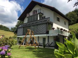 Traumhafte Ferienwohnung mit Pool, Kirchhausen (Kleines Wiesental yakınında)