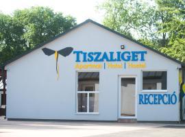 Tiszaliget Apartman és Szálló, Сольнок (рядом с городом Tiszavárkony)