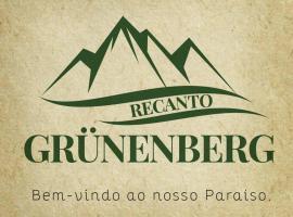 Pousada e Recanto Grüneneberg, Benedito Novo (São João yakınında)