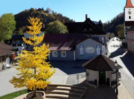 Selfness Gasthof Zwei Linden, Hohenberg (Kleinzell yakınında)