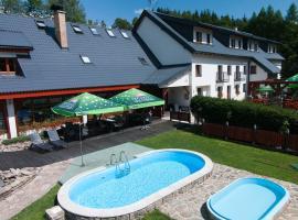 Horský Hotel Sněženka, Hynčice pod Sušinou (Staré Město yakınında)
