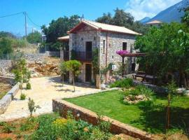 stone villa mani, Levktron (Near Stoupa)