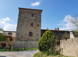 B&B Castello di Casallia, Vetulonia (Giuncarico yakınında)