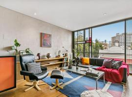 Arty townhouse in Melbourne's coolest hood