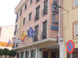 Hotel Vadorrey, Roa (рядом с городом Guzmán)