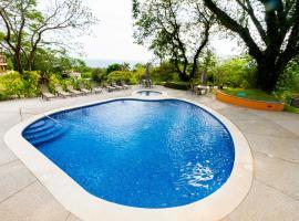 Relaxing Ocean View House, Tárcoles (El Sur yakınında)