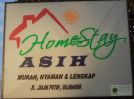 Asih Homestay, Gilimanuk (рядом с городом Penginuman)
