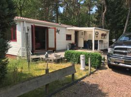 Genietenvanvakantie (Chalets op Camping De Scheepsbel), Doornspijk (in de buurt van Nunspeet)