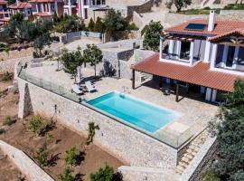 Apollon Romantic House Sea View, Kháradhros (рядом с городом Orini Meligou)