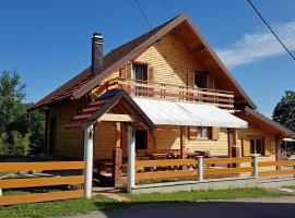 Holiday Home Ogulin 15204, Gornje Dubrave (рядом с городом Tounj)