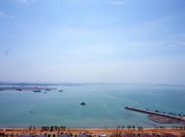Blue Sea- Deluxe Seaview Apartment, Xiamen (Xindian yakınında)